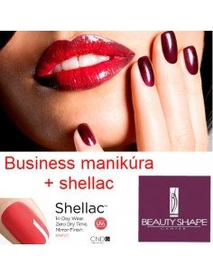 Gift certificate for business manicure + shellac